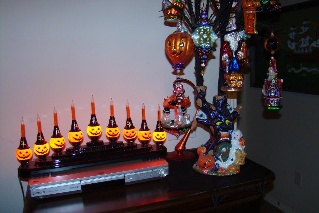 pumpkin candolier