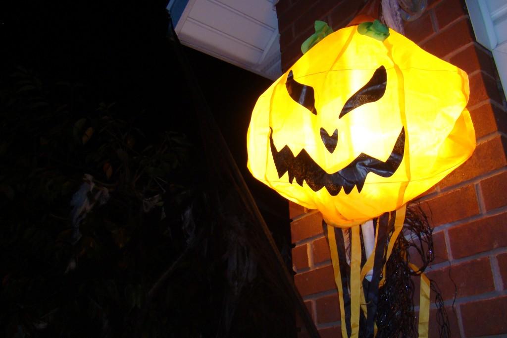 Jack-O-Lantern glow