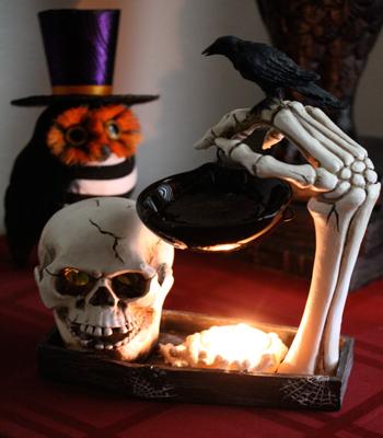 skull tart warmer